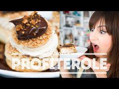 PROFITEROLE CHOCOLATE COM CREME DE AVELÃ CARAMELIZADA | Dani Noce - YouTube
