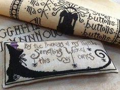 Halloween cross stitch #crafts