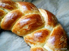 This French bread looks Like a braid