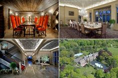 Greenwich, Connecticut    Current Listing Price: $75 million   Reduced by: $20 million   21,897 sq ft    This massive estate in Greenwich Connecticut would be a gem to even the richest of the hedge fund elite. Featuring 14 bedrooms, 13 full and 4 half bathrooms, the home is situated on 40 acres of property. It also features a 52-foot indoor pool, a walled courtyard with a 70-foot marble reflecting pool and three - tier fountain and a grand staircase that splits after a mid-level landing.....