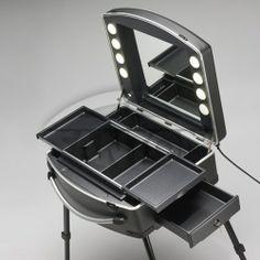 portable make up table