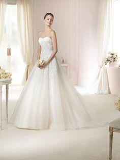 Robe de mariée – White One – TOSCANA