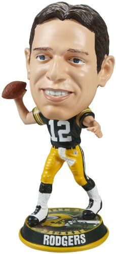 Forever Collectibles Packers Rodgers Bobblehead aa8db8986