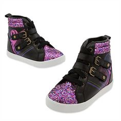 cc30d8e511ff Disney Descendants Faux Leather Wedge SNEAKERS for Girls -size 13 -