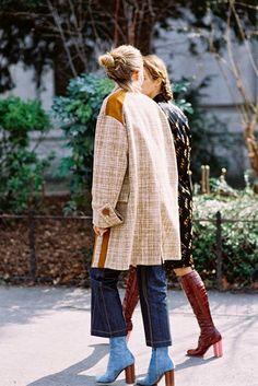 Love Elizabeth von Guttman in THOSE Vuitton jeans (by Vanessa Jackman)