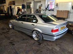 BMW e36 sedan on, OZ Executive 17''