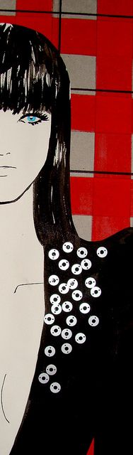 The Pretender - Fashion Illustration 11 by Gabriela Couth, via Flickr