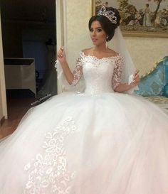 2016-lace-wedding-dresses-lace-applique-off