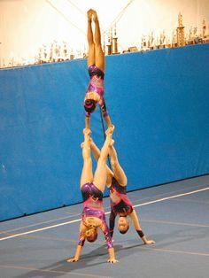 Awesome gymnastic stunts