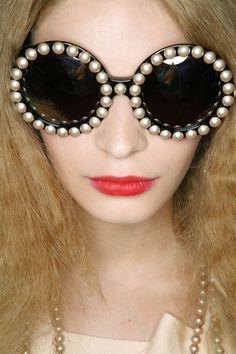 Gafas de sol de estilo vintage. // #Vintage Sonia Rykiel SS 09