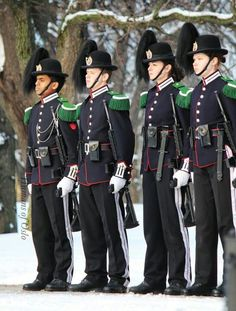 members of the king's guard Norway Viking, Norway Oslo, Cool Countries, Countries Of The World, Military Guard, Holidays In Norway, Norwegian Royalty, Baltic Cruise, Royal Guard