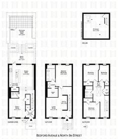 135 Bedford floorplans