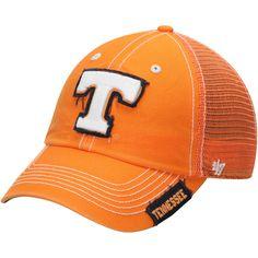 Men's '47 Tennessee Orange Tennessee Volunteers Turner Clean Up Snapback Adjustable Hat