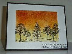 Pink Paper Bakery: Stampin Up Lovely As A Tree