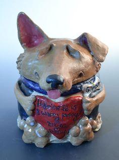 Custom Dog Cat or Pet Urn Made to Order by MonsterHollowStudios