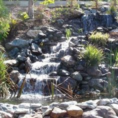Traditional home page 2 home garden design ideas with for Waterval vijver aanleggen