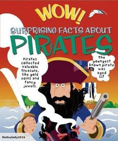 Set sail on a high sea adventure with Wow! Surprising Facts About Pirates.