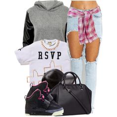 RSVP, created by oh-aurora on Polyvore
