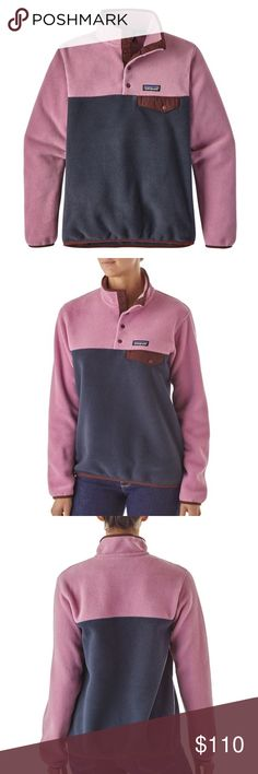 NWT Patagonia Lghtwght Synchilla SnapT Pullover Brand new with tags and totally adorable! Providing everyday warmth and comfort, this classic pullover is made with Synchilla fleece (heathers: 80% recycled; solids: 85% recycled) with Fair Trade Certified sewing.  PRICE IS FIRM. Patagonia Jackets & Coats
