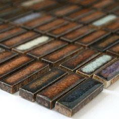 Keramik Mosaik Fliesen Gold Xxmm Home Pinterest Gold - Mosaik fliesen braun gold