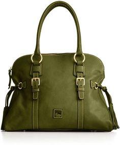 Dooney & Bourke Handbag, Florentine Domed Buckle Satchel by Nessa