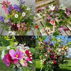 My flower wisdom and flower medicine ways workshops all include time with flowers on my flower farm, and time to arrange flowers intuitively, from the heart.