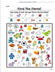 Our team of therapists created Shape Book Activity Worksheets that target individual occupational therapy goals and incorporate unique learning style. Visual Motor Activities, Visual Perceptual Activities, Pre K Activities, Visual Learning, Autism Activities, Kindergarten Activities, Physical Activities, Occupational Therapy Schools, Physical Education