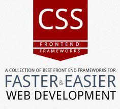 Front-end CSS Frameworks Comparison Web Design Trends, Graphic Design Inspiration, Data Science, Computer Science, Front End Design, Web Layout, App Development, Coding, Mobile Technology