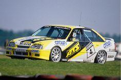 DTM-Boliden 1990 im Irmscher Opel Omega 3000