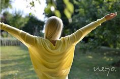 """#SS14 - frauen - cashmere pullover """"double layer"""". #sunyellow #feelgood #summercashmere #neyomadeinnepal"""
