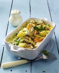 Unser beliebtes Rezept für Mairübchen-Kartoffelauflauf mit Möhren in Käsesoße und mehr als 55.000 weitere kostenlose Rezepte auf LECKER.de.