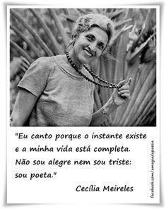 CECILIA MEIRELES - Brasil Sempre - Poesia - Cecília Meireles