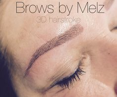 #3dhairstroke #cosmetictattoo #browsbymelz