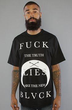 BLVCK SCVLE The Lies The New Black Tee in Black : Karmaloop.com - Global Concrete Culture
