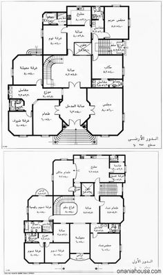 Square House Plans, 3d House Plans, Indian House Plans, Model House Plan, House Layout Plans, Basement House Plans, Duplex House Plans, Family House Plans, House Layouts