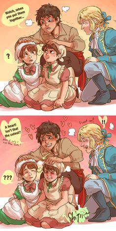 i'll take the set please by ryounkura.deviantart.com on @deviantART | AGHHHHHHH SO CUUTE OMGOMGOASDFGKKL