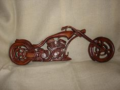Wooden Chopper  Wooden Motorcycle  Motorcycle  Chopper