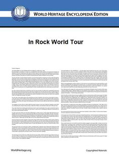 In Rock World Tour