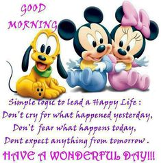 Exceptional Love It Disney Babies Good Morning Have A Wonderful Day! U003d Disney Babies Good  Morning Have A Wonderful Day Morning Good Morning Morning Quotes Good  Morning ...