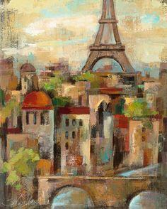 Spring in Paris III, Silvia Vassileva