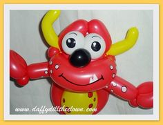 A Red Balloon Monster