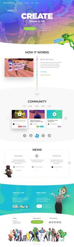 Show Website Design