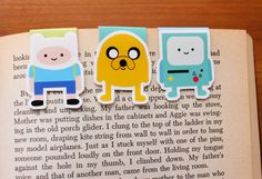 Adventure Mini Bookmarks Pack 1 by craftedvan on Etsy