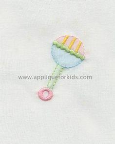 Shadow Work & Embroidery :: Babies :: Shadow Baby Rattle Machine Shadow Work