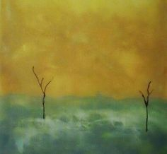Abstract Acrylic Painting by Denise Pino