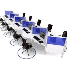 Modular Office Furniture - Workstations, cubicles, systems, modern ...
