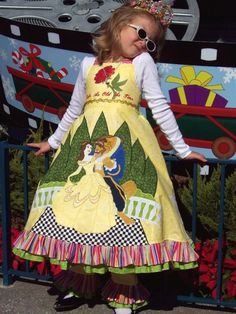 Disney Clothing!  More wonderful creations from Pickalilys etsy shop.