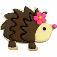 Hedgehog Cookie