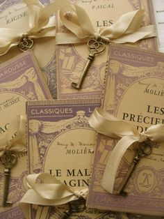 french purple books