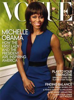 Michelle Obama en Une du Vogue... pour la deuxième fois!